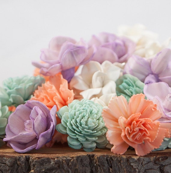 Summer Breeze Sola Flower Mix - Available in sets of 45 and 100