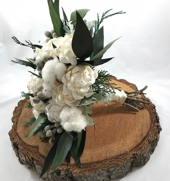 Large Woodland Boho Bridal Bouquet