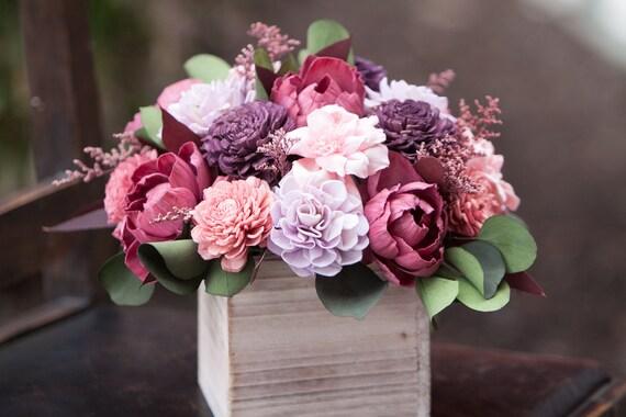 Boho Feel Summer Sola Flower Arrangement