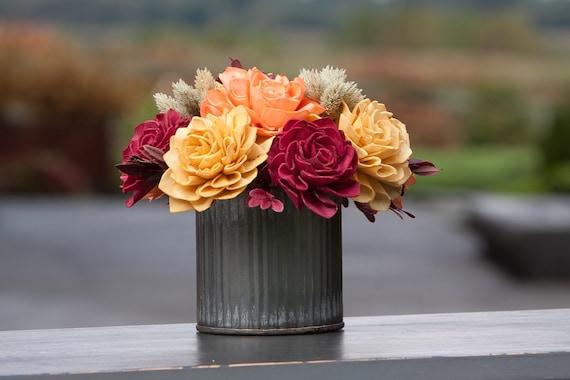 Small Fall Keepsake Sola Flower Arrangement