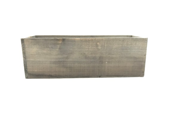 Rectangular Woodland Planter - wood container