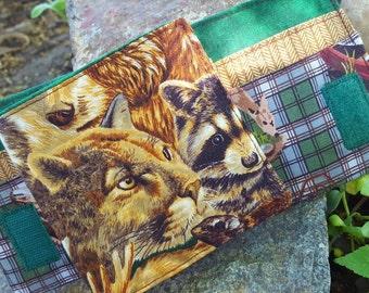 Wildlife Wallet, Boy's Wallet, Wildlife Bi-fold Wallet, Deer Wallet