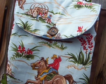 Toddler Cowboy Backpack, Preschool Backpack, Boy's Backpack, Western Backpack, Boy's Backpack
