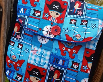 Pirate Backpack, Boys Backpack, Toddler Backpack, Kids Backpack, Preschool Backpack