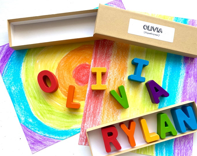 Name Crayons