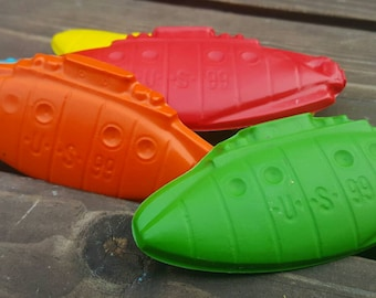 Submarine Crayons set of 40 - Submarine Party Favors - Submarine Party - Submarine Favor - Kids Party Favors - Kids Gifts - Classroom Favors