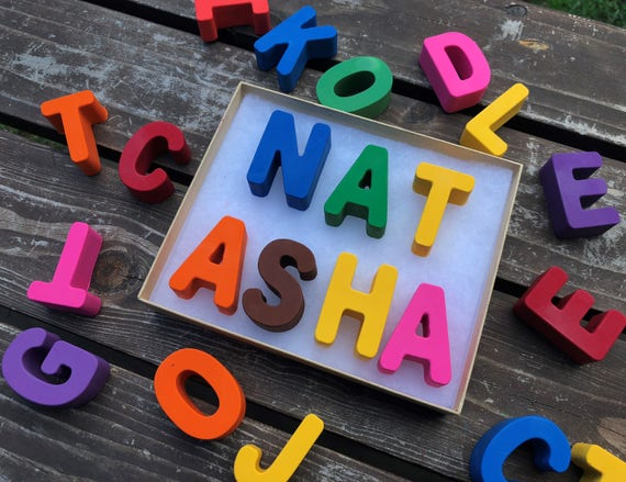 Name Crayons 9 Letters Personalized Gifts For Kids Unique Kids