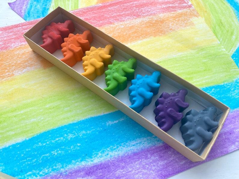 Dinosaur Crayons  Dinosaur Party Favors  Kids Gifts  image 0