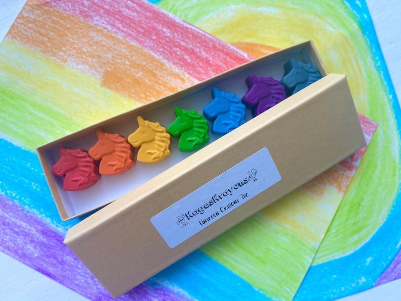 Unicorn Crayons  Unicorn Party Favors  Kids Gifts  Unicorn image 0
