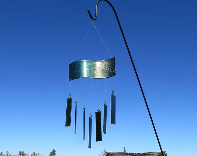 This beautiful wind chime is will amaze you with it's colors!