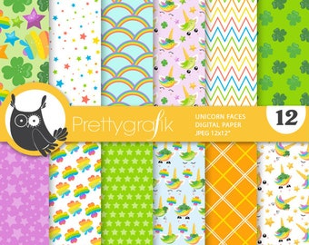 background PS699 St-patrick/'s paper digital papers scrapbook papers commercial use BUY 20 GET 10 OFF