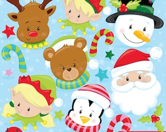 christmas treats coco vector graphics CL1031 Christmas clipart commercial use BUY 20 GET 10 OFF christmas drinks digital clip art