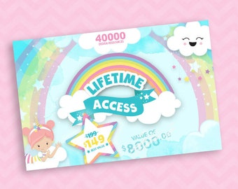 LIFETIME ACCESS all packs, present and future, over 3106 packs and +250/yr, Special Bundle Event, 10 Access Available