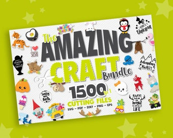 Amazing craft BUNDLE graphic set,  SVG, cutting files, clipart commercial use, clipart, vector graphics, digital images