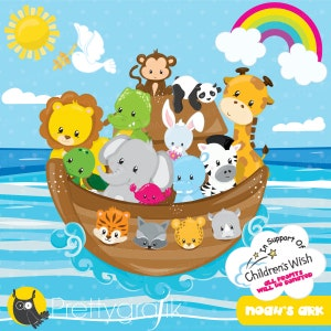 Noah/'s Ark 2016 clip art Combo Pack