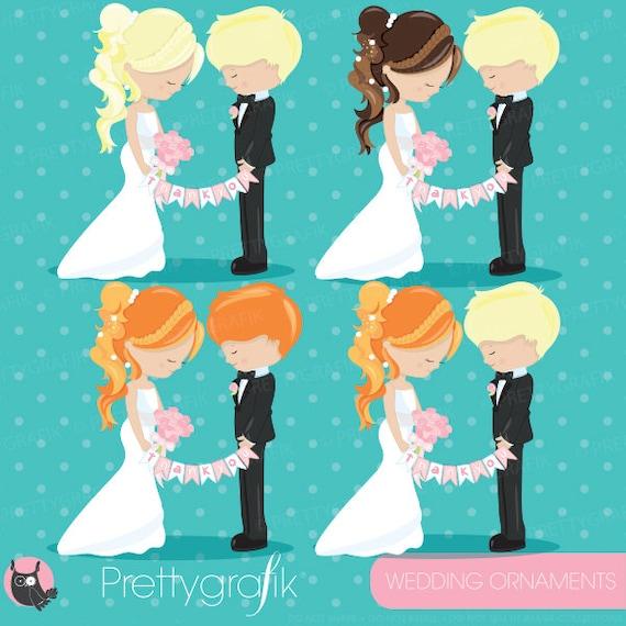 CL831 digital images bride and groom digital clip art BUY 20 GET 10 OFF Wedding groom clipart commercial use wedding vector graphics
