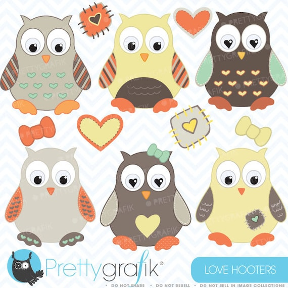 Owl clipart commercial use vector graphics digital clip ...