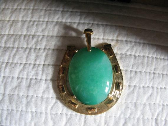 Mazer Vintage Horseshoe Pendant
