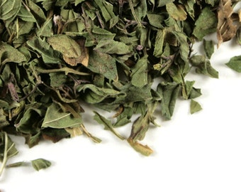 Organic Dried Peppermint Leaf Very Fresh and Fragrant one ounce bag