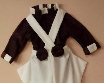 Oompa Loompa costume for toddlers, kids and adults