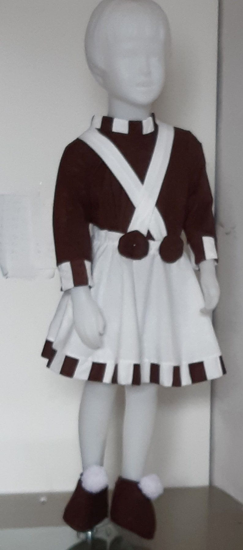 kids and adults Girlie Oompa Loompa costume for toddlers