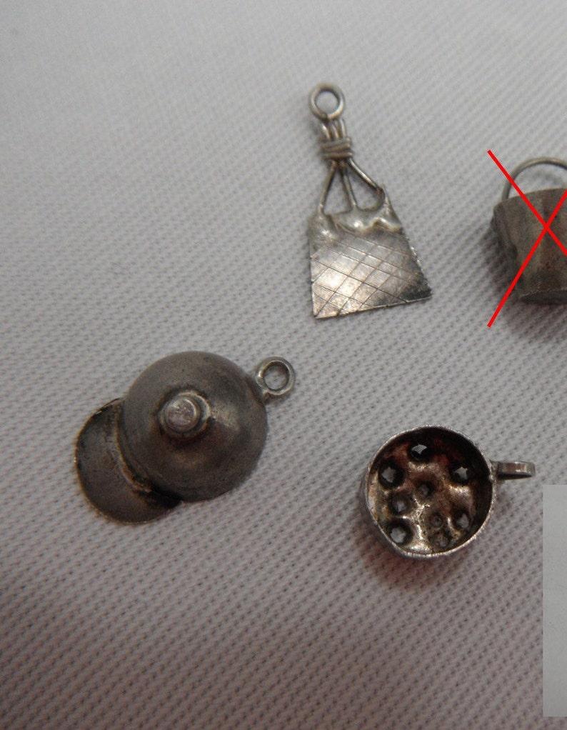 Colander Ballcap Mexico Sterling Silver Charms PurseBag