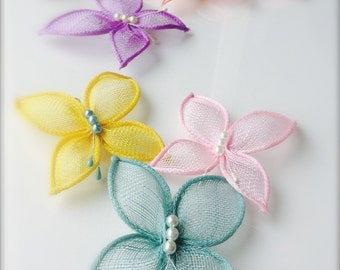 Butterfly Hair Clip For Baby Girls, Perfect For Wedding, Christening or Special Occasion, 20 Colors Available