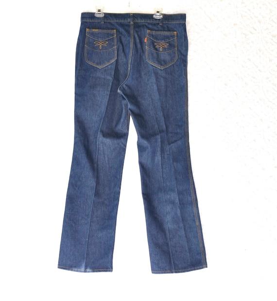 Vintage Levis Jeans. 70s Jeans | Dark Wash Mens Je