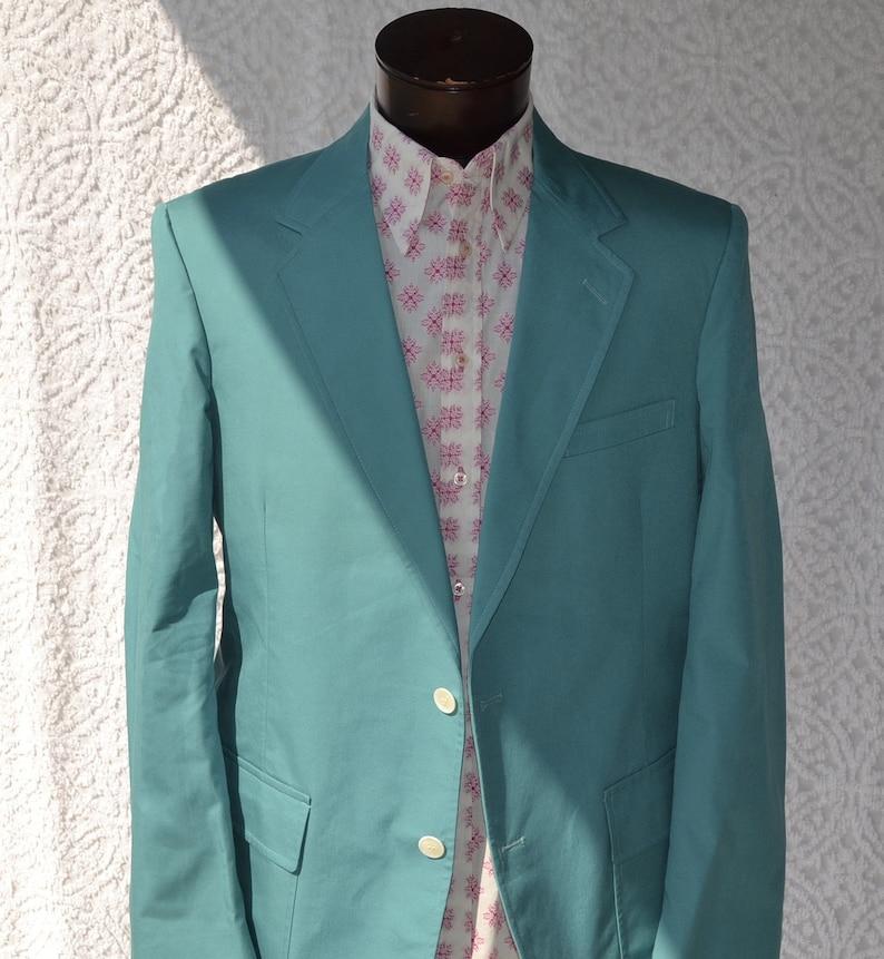 934fb6ca687fb 70s Mens Sport Coat Vintage Wedding Jacket. Retro Dinner