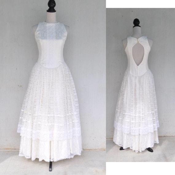 Vintage Gunne Sax Jessica McClintock Dress | Prair