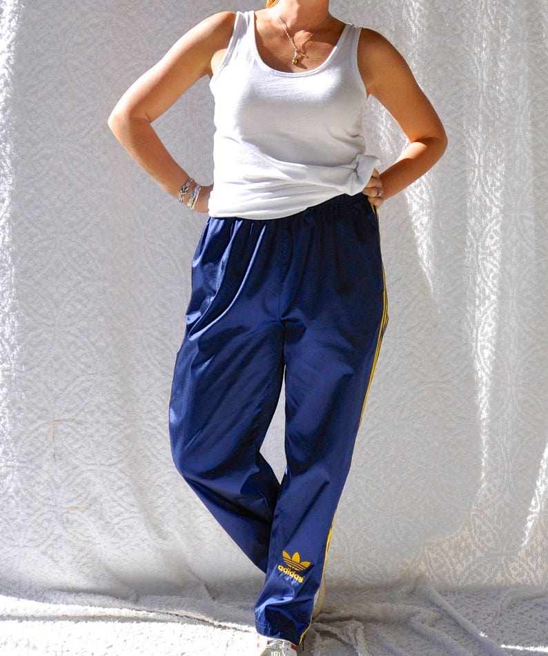 huge discount 220b0 fcd09 Vintage Adidas Pants 90s Adidas Track Pants. Retro Hip Hop   Etsy