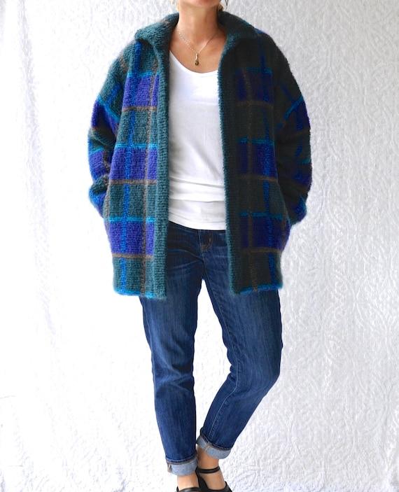 Vintage Escada Sweater Jacket | 1980s Mohair Cardi