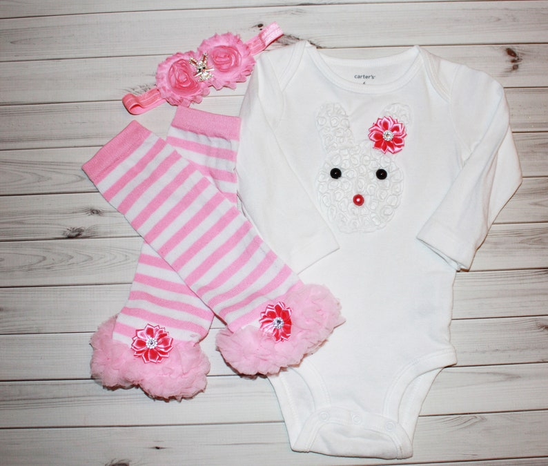 63e165d65e8 EASTER BUNNY OUTFIT-Easter Outfit-First Easter-Pink Easter