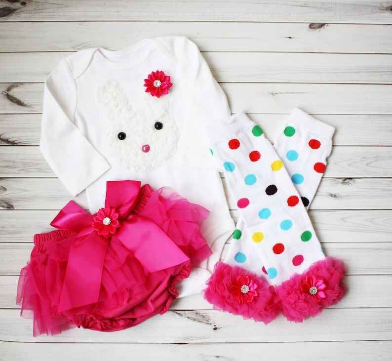 ee45981db SALE-EASTER BUNNY Outfit-Easter Outfit-Baby Outfit-First   Etsy