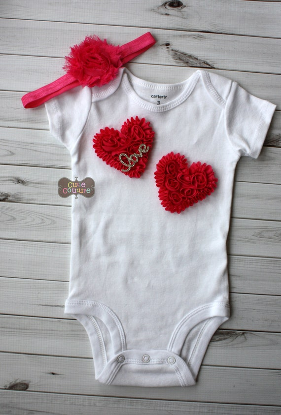 Boutique Style-Baby Outfit-Heart-Hospital Outfit-Newborn Photo | Etsy