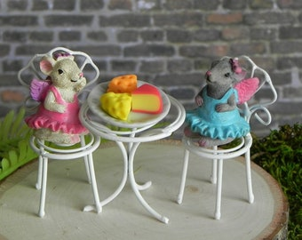 Cute Sofa Dog Chair Bench Figurines Toys Miniatures Terrarium Micro Fairy Garden Decoration Accessories Ornaments Gift Diy Resin Online Shop Home Decor