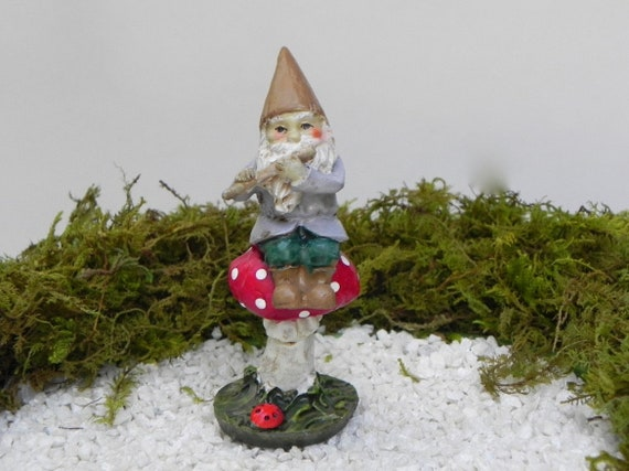 BT Miniature Fairy Garden Terrarium Doll House Figurine Statue Home Dector