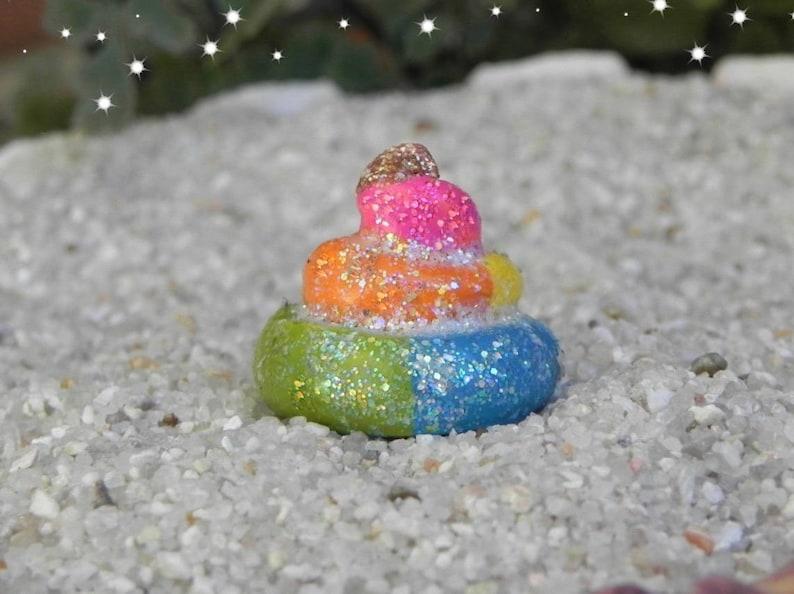 Accessories Rainbow Unicorn Miniature Dollhouse FAIRY GARDEN