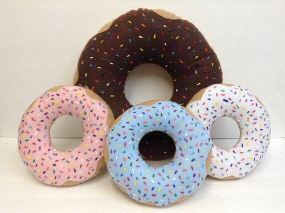 Doughnut Pillow 16 inchesFun Room Decor