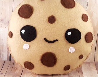 Plush cookie, kawaii gift, for kids, teen room decor, baby shower gift, party favor