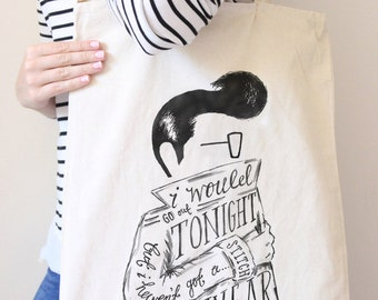 The Smiths Lyric Tote Bag
