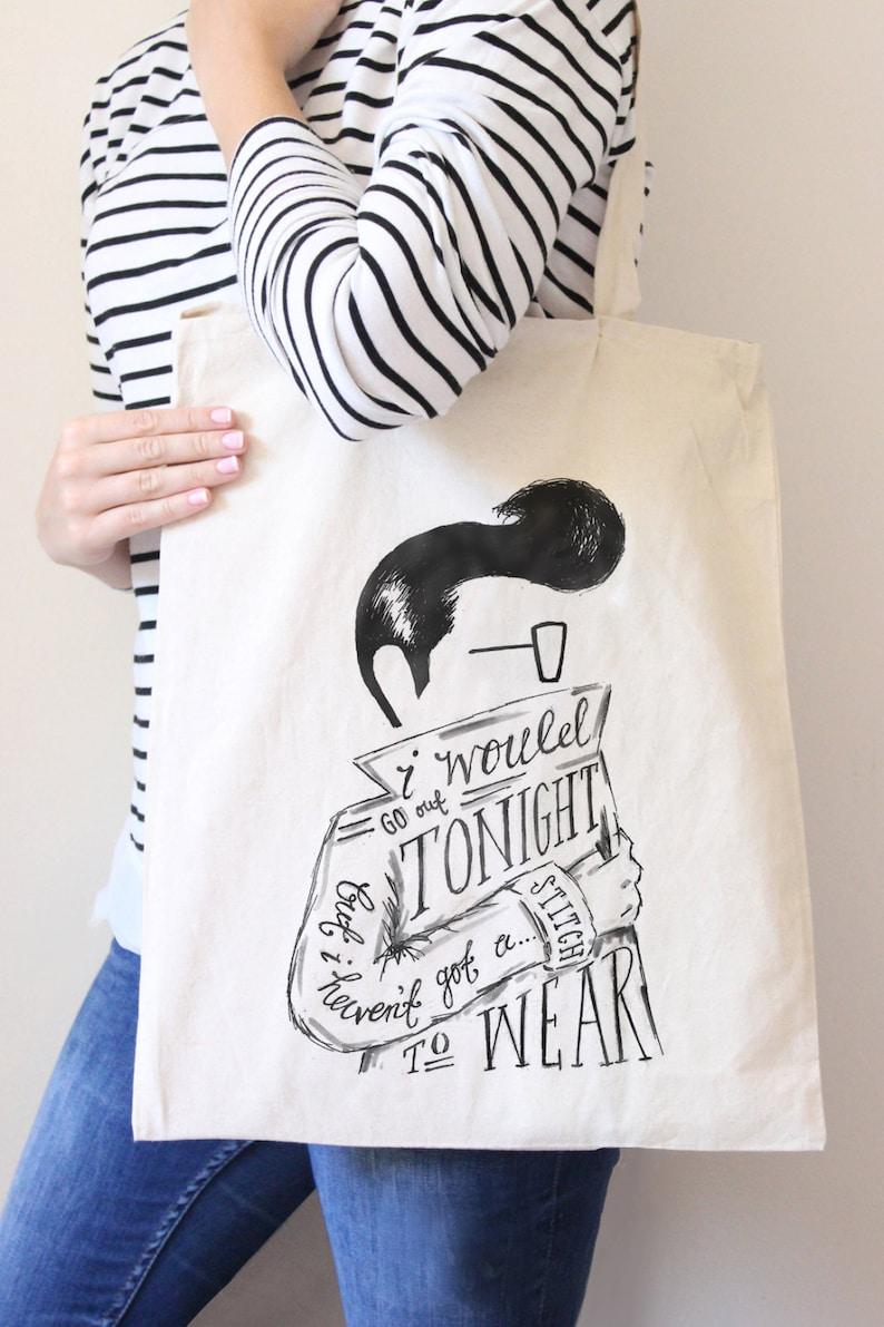The Smiths Lyric Tote Bag
