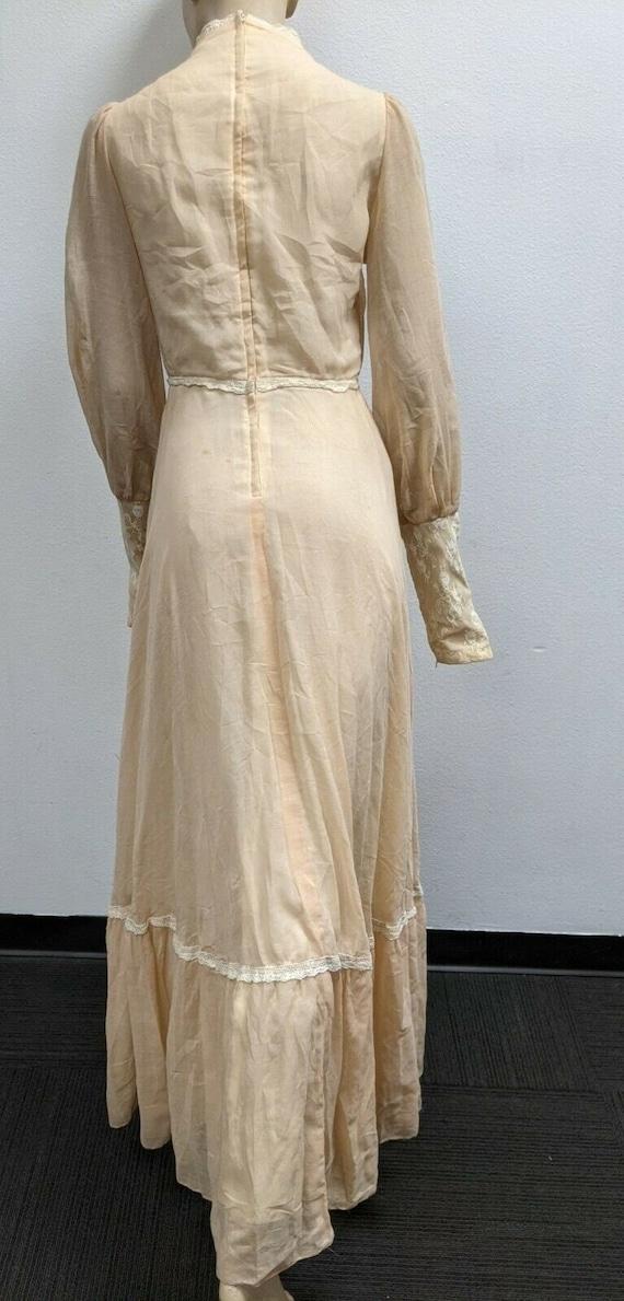 Size 13 Gunne Sax cottagecore vintage boho dress … - image 1