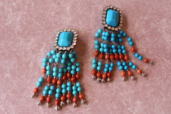 Valentino Huge, Designer, Over the Top  Earrings