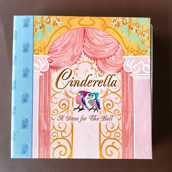 Disney Storybook Collection Cinderella...A Dress for The Ball HSN limited series