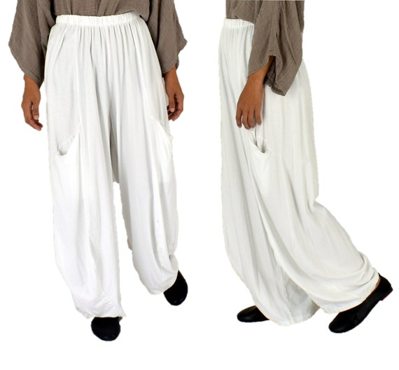 ba62eedaea1 Plus Size LC700W Pants mega-wide balloon pants one size Jersey