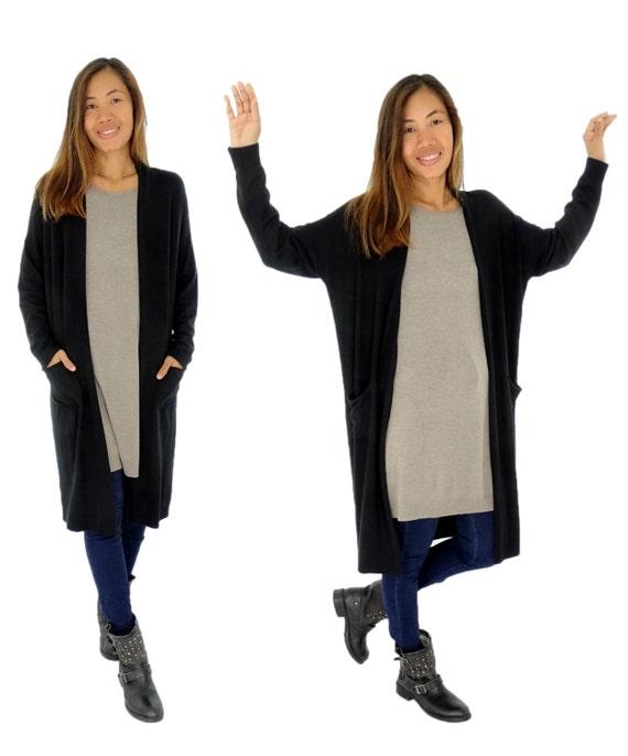 IM800RA große Größe Jacke Damen Cardigan Strick Mantel | Etsy