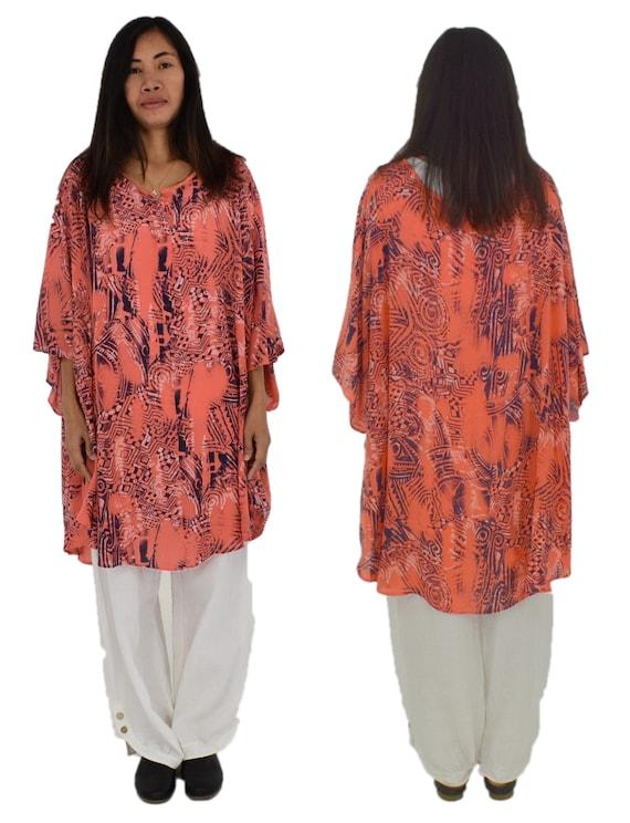 d46d8fc290e96 HY700KO1 Women s tunic oversize blouse plus sizes Gr. 48