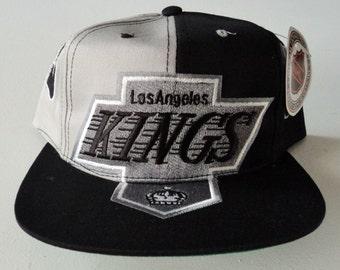 23edd583374aa Vintage Los Angeles Kings Deadstock Snapback Hat NHL VTG