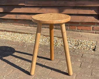 Stable Oak Stool - Side Table
